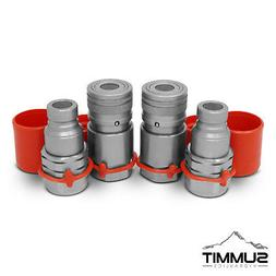 1/2 Flat Face Hydraulic Quick Connect Couplers Couplings Ski