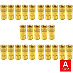 """1/4"""" A Style Air Hose Fittings Aro 210 Quick Connect Coupler"""