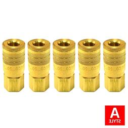 "1/4"" A Style Air Hose Fittings Aro 210 Quick Connect Coupler"