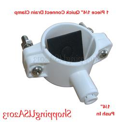 """1/4"""" Drain Clamp Quick Connect Water Filter RO Reverse Osmos"""