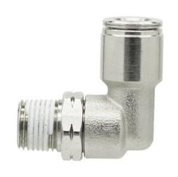 1/4 OD x 1/8 NPT Quick Metal Push In Connect Tube Fitting Ma