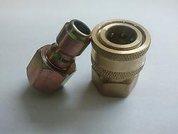 """1/4"""" Quick Connect Fittings for Pressure Washer Hose-New- To"""