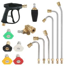 "1/4"" Quick Connect Power High Pressure Washer Spray Nozzle T"