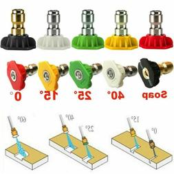 """1/4"""" Quick Connect Power Washer Spray Nozzle Replacement Pre"""