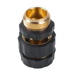 1 Pair x Garden Hose Connector Quick Connect Fitting Pipe 3/