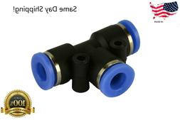 1 piece pneumatic air quick push to