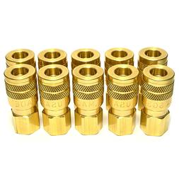 "10 Foster Quick Connect 1/4"" Female NPT Air Hose Coupler - M"