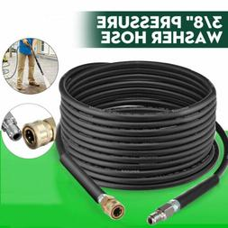 100FT 3000 PSI High Pressure Washer Hose 3/8 Quick Connect E