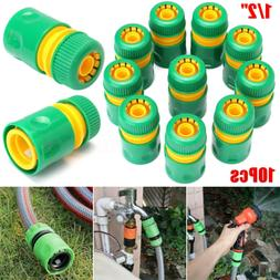 """10Pcs 1/2"""" Garden Quick Connect Adapter Fitting Tap Water Ho"""