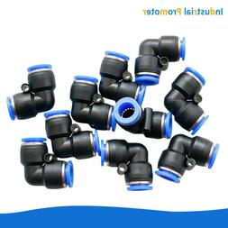 10x Pneumatic Elbow Union Push In To Connect Fitting Tube OD