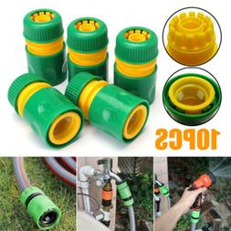 10x Quick Connect Adapter Tap Water Hose Pipe Connector Fitt