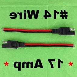 12V SAE Quick Connect Disconnects Waterproof Electrical Wire