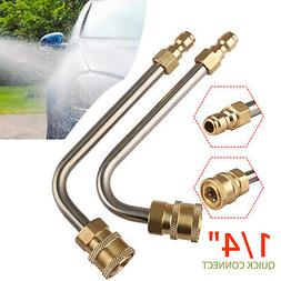 """17cm 1/4""""Quick Connect Pressure Power Washer Gutter Cleaner"""