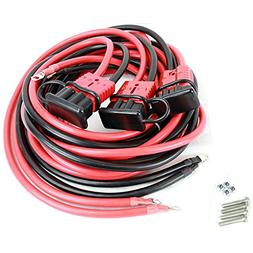 Tuff Stuff 2 Gauge 25' Ft Perminent Winch Wiring Kit w/ Quic