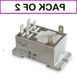 2 pack 1ejh4 relay power dpst no