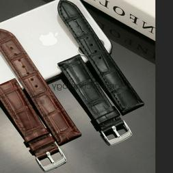 22mm 20mm Universal Quick Release Crocodile Pattern Leather
