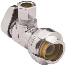 "SharkBite 23036-0000LF 1/2"" PTC x 3/8"" Compression Angle Sto"