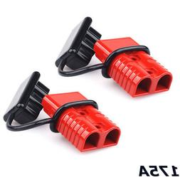 2x Battery Winch Cable Quick Connect Diconnect Terminal Trai
