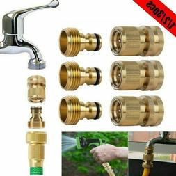 """3/4"""" Garden Hose Quick Connect Water Hose Fit Brass Female M"""