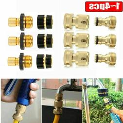 3/4' Garden Hose Quick Connect Water Hose Fit Brass Connecto