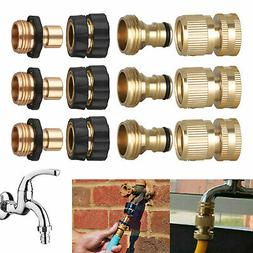 3/4'' Garden Hose Quick Connect Water Hose Fit Brass Female