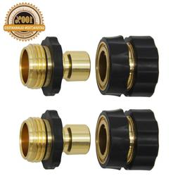 Twinkle Star 3/4 Inch Garden Hose Fitting Quick Connector Ma