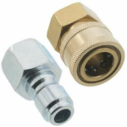 "3/8"" Quick Connect Fittings for Pressure Washer Hose New Top"