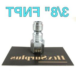 """🌟3/8"""" Male Quick Connect Plug 3/8"""" Female FNPT Threaded P"""