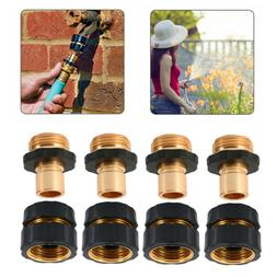 4 Pairs Garden Hose Quick Connect Set Pressure Washer Tap Ad