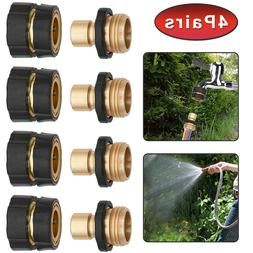 4Pairs Quality Garden Hose Quick Connect Set Pressure Washer
