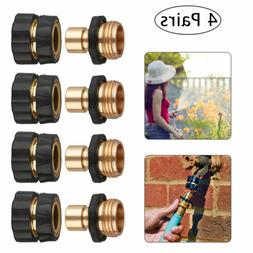 4Pairs Universal Garden Hose Quick Connect Brass Hose Tap Ad