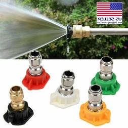 5color high pressure power washer gun nozzles