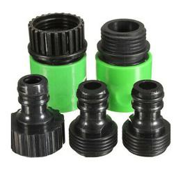 5pcs Garden Tap Water Hose Pipe Connector Quick Connect Adap