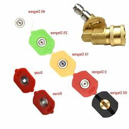 Minireen 4000 PSI 7 Power Pressure Washer Nozzle Tips and Qu