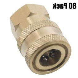 """1/4"""" FPT Female Brass Socket Quick Connect Coupler Pressure"""