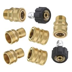 """M22 Ultimate Pressure Washer Adapter Set 3/8"""" Quick Connect"""