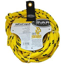 """Brand New Rave Sports - Rave 50' Bungee 1-4 Rider Tow Rope """""""