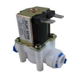 DC24V 3/8'' Inlet Feed Water Solenoid Valve Quick Connect fo