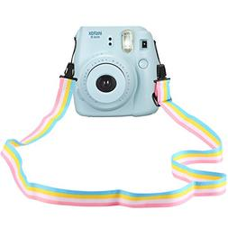 Katia Camera Neck Shoulder Strap Belt in rainbow for Nikon /