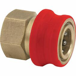 NorthStar Insulated Quick-Connect Coupler - 3/8in. NPT-F, Br