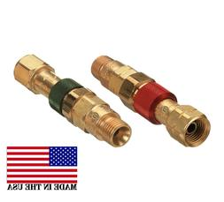 Western Torch to Hose Quick Connect/Connector Disconnect Set