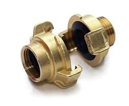 Underhill A-BQ7F Brass with Quick Connect Female End, 3/4-In