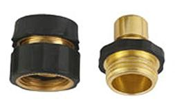 A8001 Pressure Washer Garden Hose Brass Quick Connect Kit 2