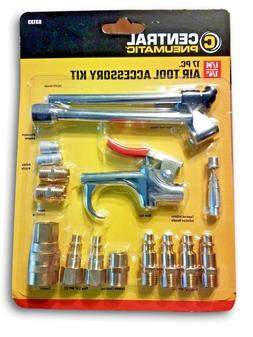 17 Pc Air Tool Accessory Kit Quick Connect Coupler and Air G