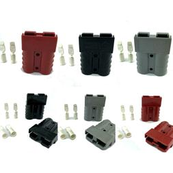 Anderson SB50 Connector Set Cable Wire Quick Connect Battery