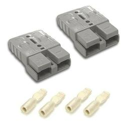 ANDERSON SB50 GRAY CONNECTOR PLUG KIT 10/12 AWG QUICK CONNEC
