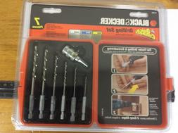 BLACK+DECKER 71-974 Quick Connect Drilling Set, 7-Piece