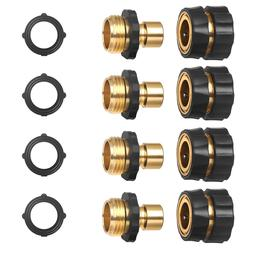BMBY-3/4 Inch Garden Hose Fitting <font><b>Quick</b></font>
