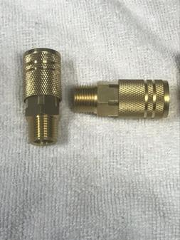 """Amflo Brass Industrial Style Quick Connect 3/8 """" Male"""