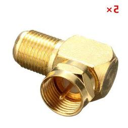 Coax Connector Adapter Plug Coaxial Antenna Female - 1PCs
